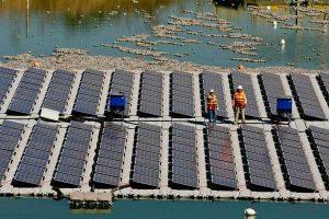 ساخت جزیره خورشیدی شناور توسط شیلیاییها