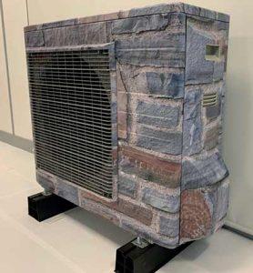 استتار کندانسورهای دایکین در پوشش نمای ساختمان